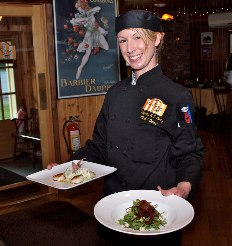 Chef Tiffany Tolene Guay is our Front of the House Manager.